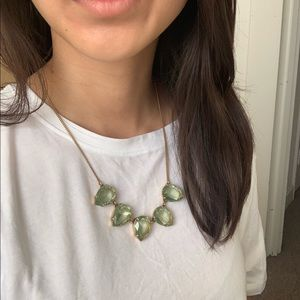 ⏰ Green Jewel Necklace